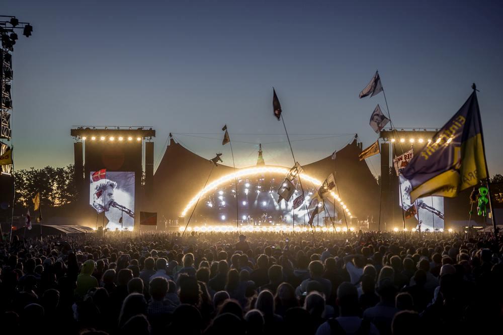 If you're spending June in Copenhagen, why not attend the famous Roskilde Festival? C: Kjeld Friis / Shutterstock.com