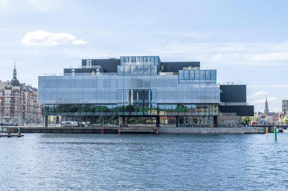 The BLOX building is only one of the many beautiful sights you will see on this self-guided Copenhagen walking tour.