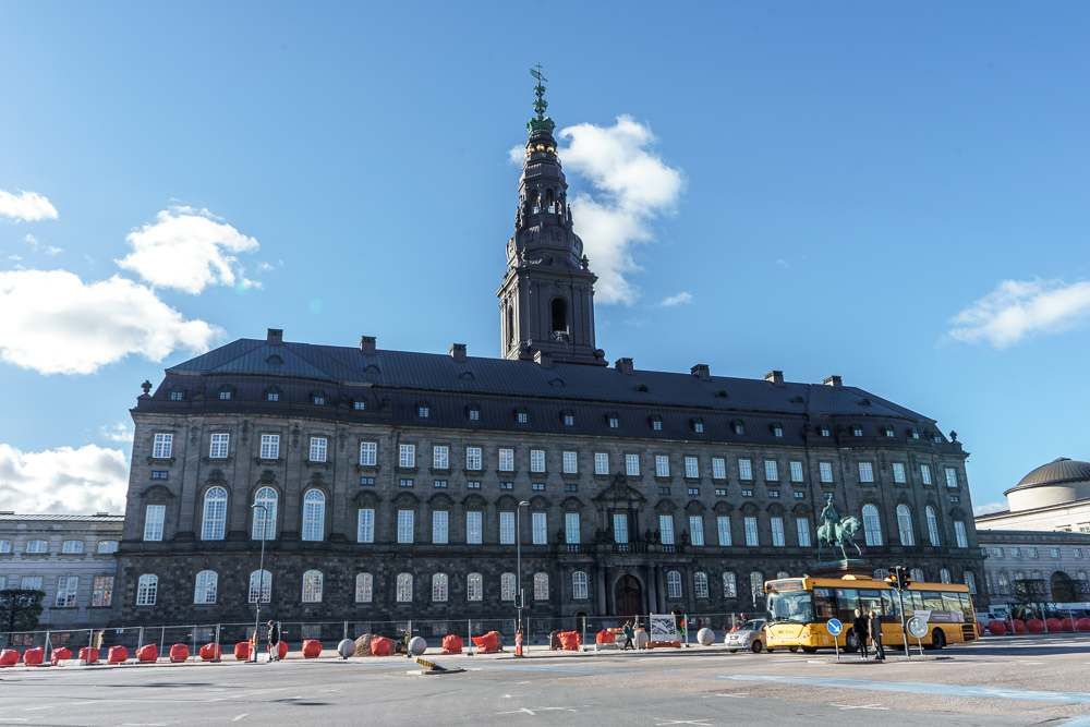 Christiansborg Palace is only one of the many sights you will see on this self-guided Copenhagen walking tour.