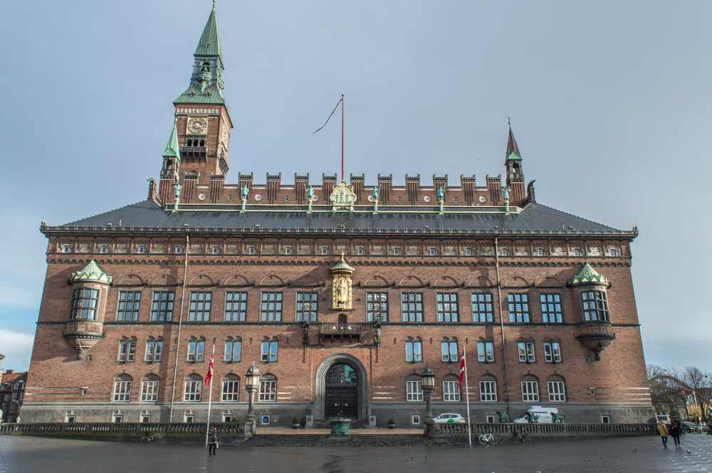 Copenhagen City Hall is only one of the many things you can see in Copenhagen on this walking tour.