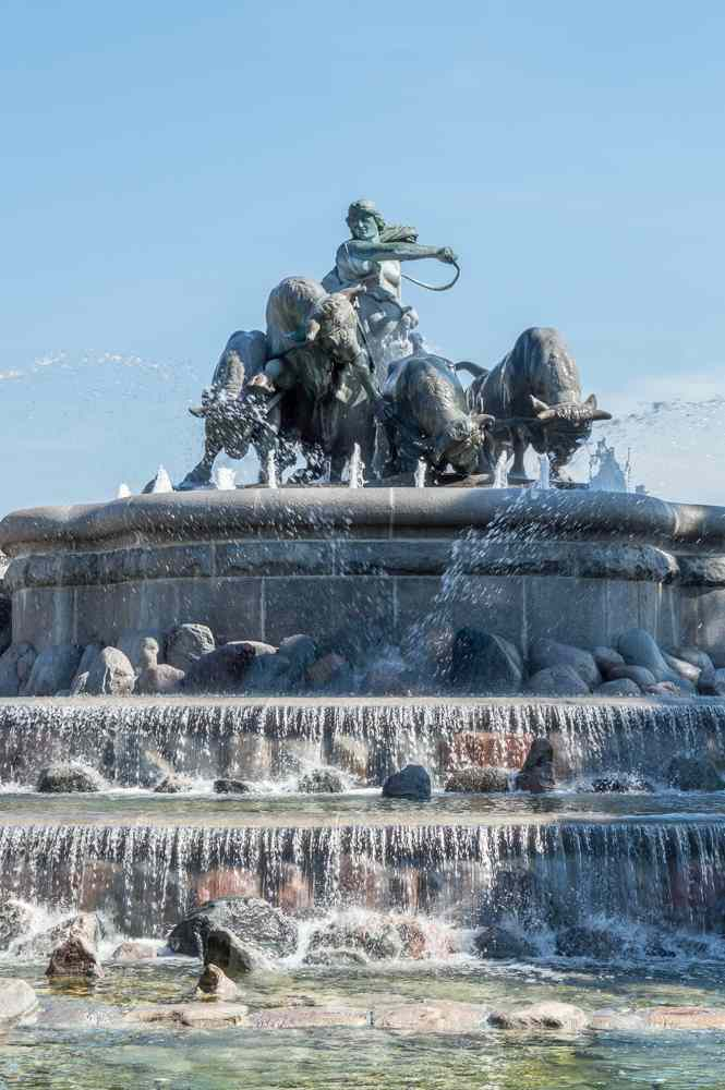 Gefion Fountain is one of the stops on this self-guided walking tour of Copenhagen.