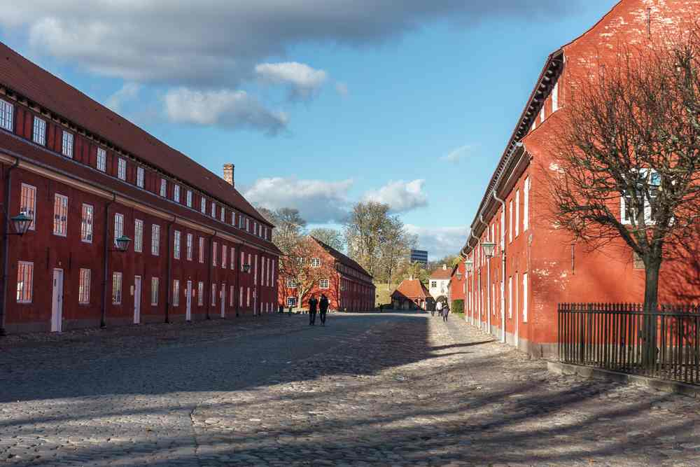 Kastellet is one of the stops on the way to the Little Mermaid on this Copenhagen walking tour.