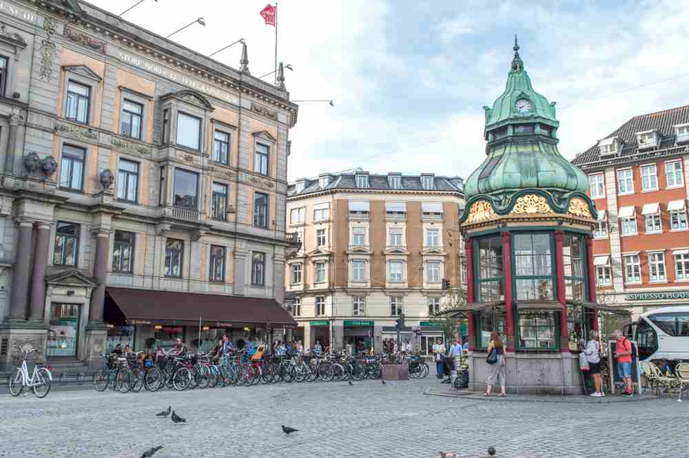 Kongens Nytorv is only one of the many stops on this self-guided Copenhagen walking tour.