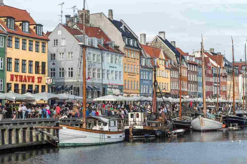 A stroll along Nyhavn is an essential part of this self-guided Copenhagen walking tour.