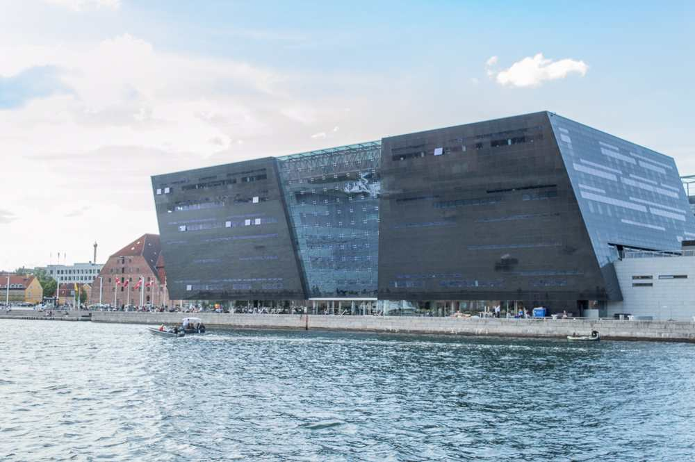 The Royal Library is only one of the many sights you will see on this self-guided Copenhagen walking tour.