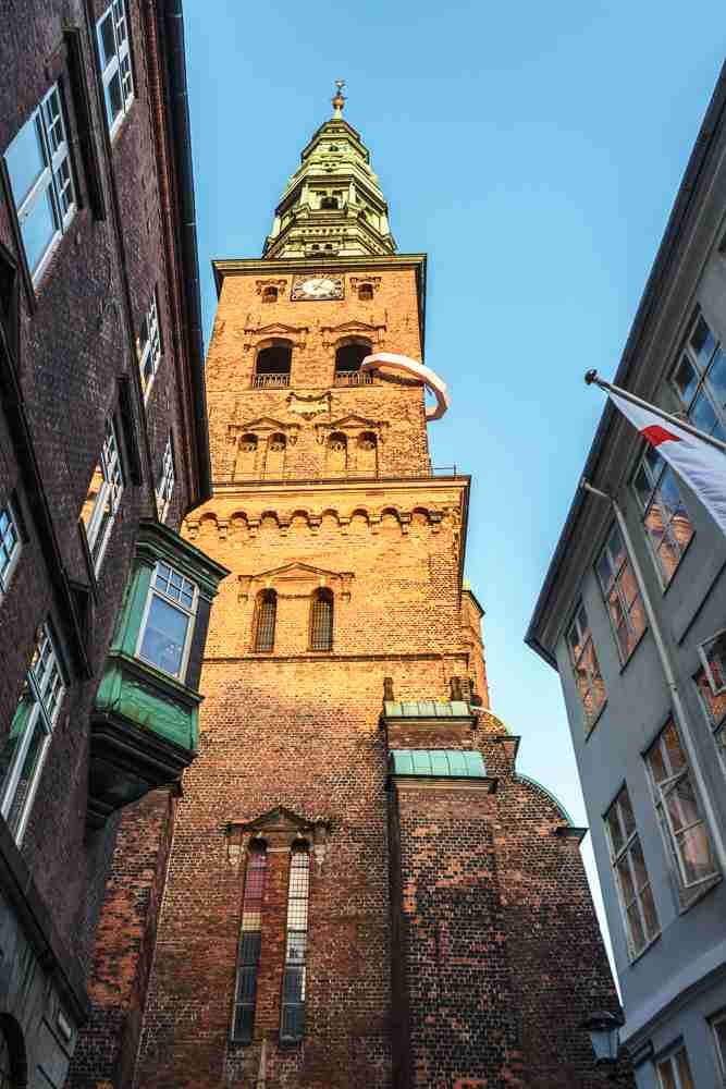 St. Nicholas Church is only one of the hidden gems you will discover on this self-guided Copenhagen walking tour.