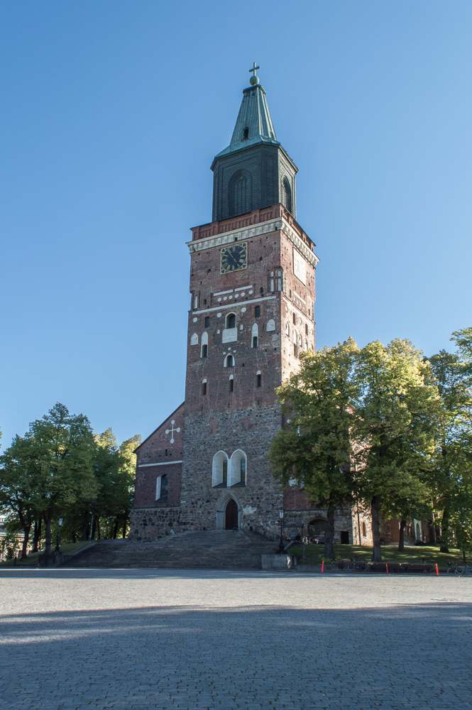 The old capital of Turku is a perfect day trip from Helsinki.