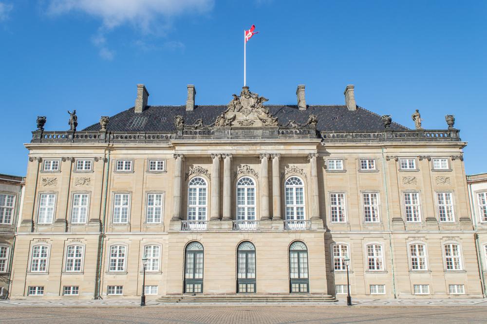 Amalienborg ist eine der wichtigsten Sehenswürdigkeiten in Kopenhagen.