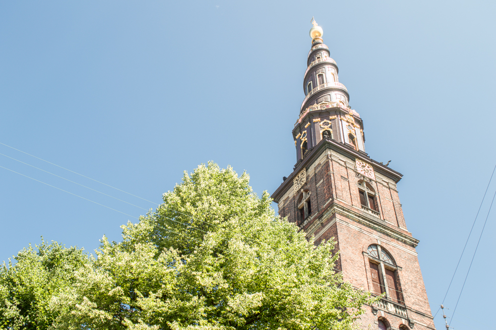 Die Erlöserkirche ist eine der schönsten Kirchen in Kopenhagen.
