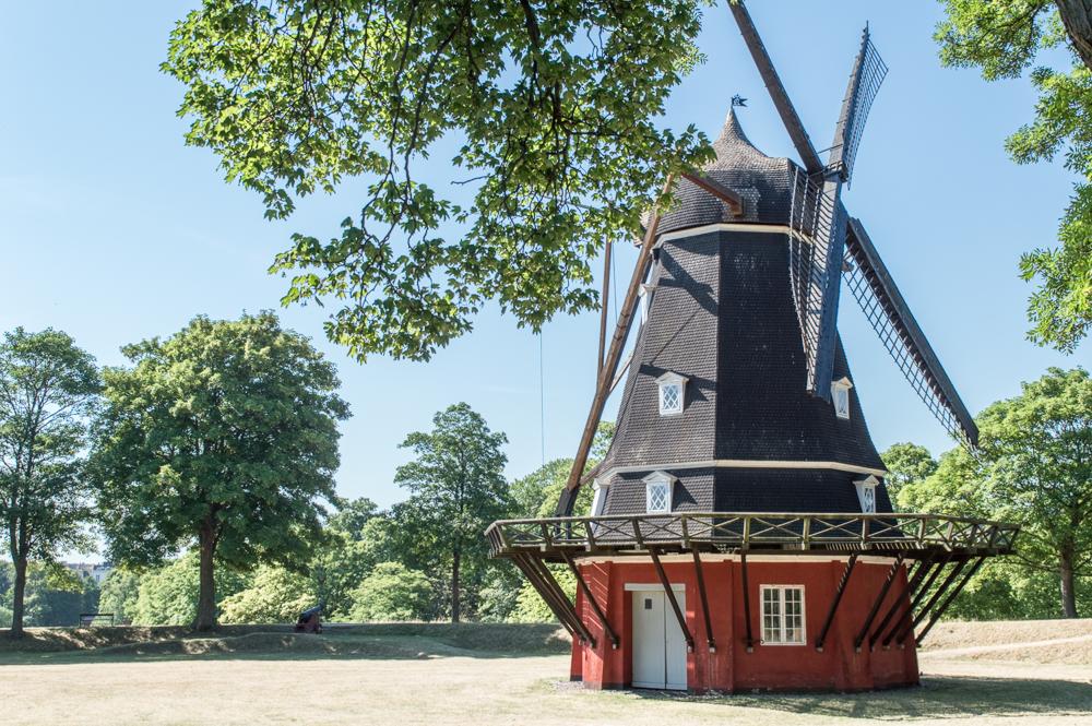 Diese holländische Windmühle ist ein wahrer verborgener Schatz in Kopenhagen.