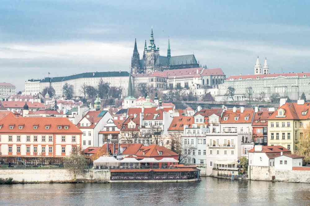 Prague Castle is a must-see during your 1 day in Prague.