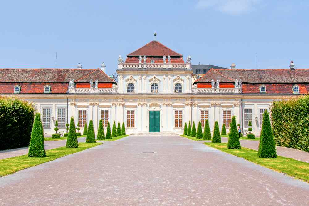 Lower Belvedere is a must-see during your day in Vienna.