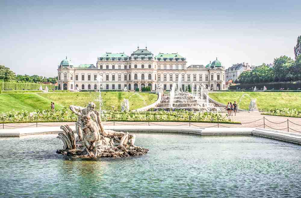 Upper Belvedere is a must-see during your 24 hours in Vienna.