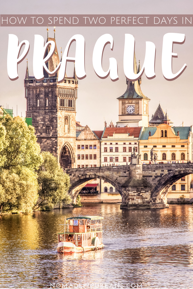 Got only 2 days in Prague? Make the most of your 48 hours in Prague with this in-depth itinerary! Includes views, museums, architecture, food, shopping, and more. With practical tips and map. #travel #prague #czechrepublic