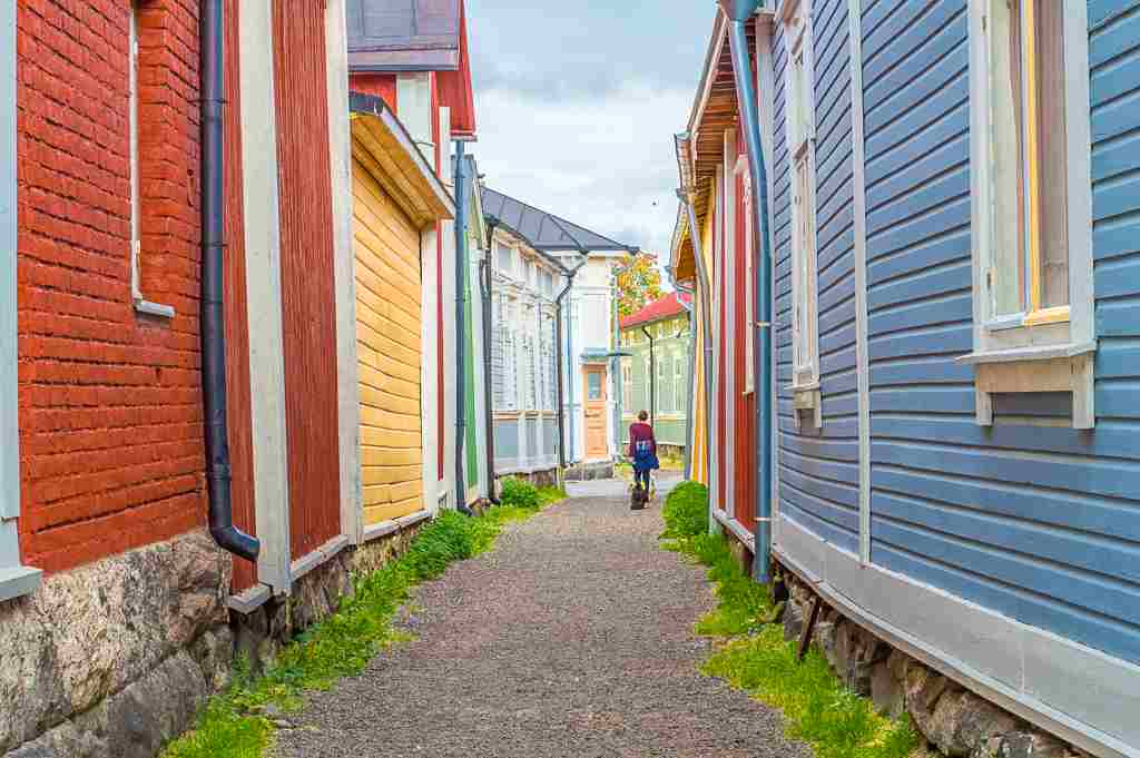 Rauma is not only a UNESCO World Heritage Site, it's also an easy day trip from Helsinki.