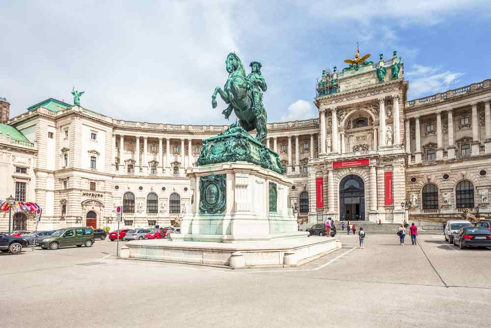 Hofburg Palace is one of the most important stops on this self-guided Vienna walking tour.