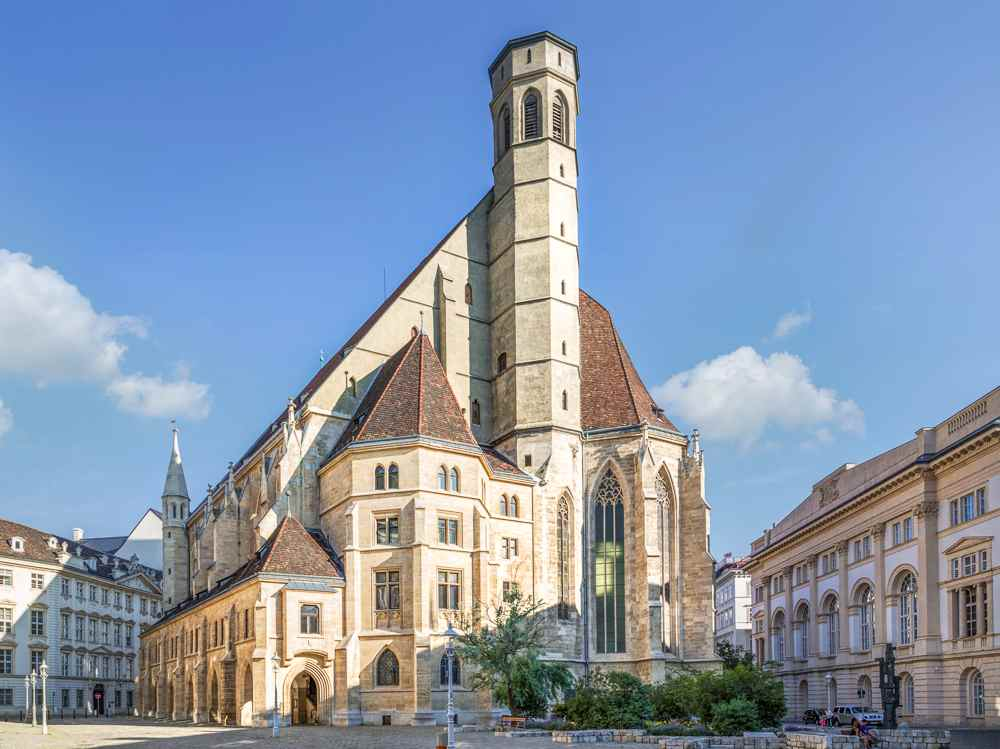 The Minorite Church is only one of many stops on this self-guided walking tour of Vienna.