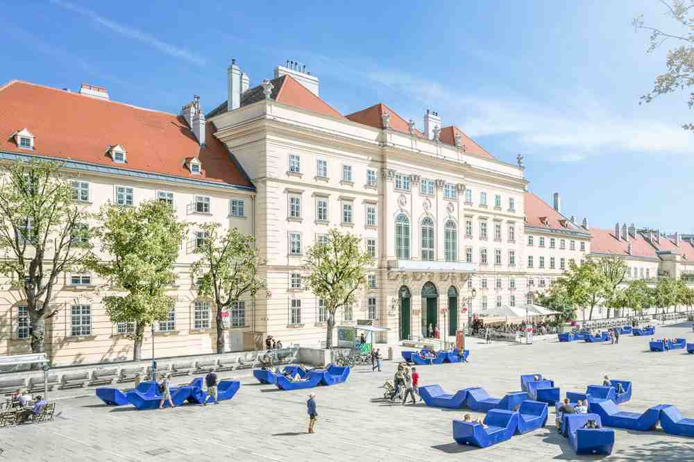 The Museum Quarter is only one of many stops on this self-guided Vienna walking tour.