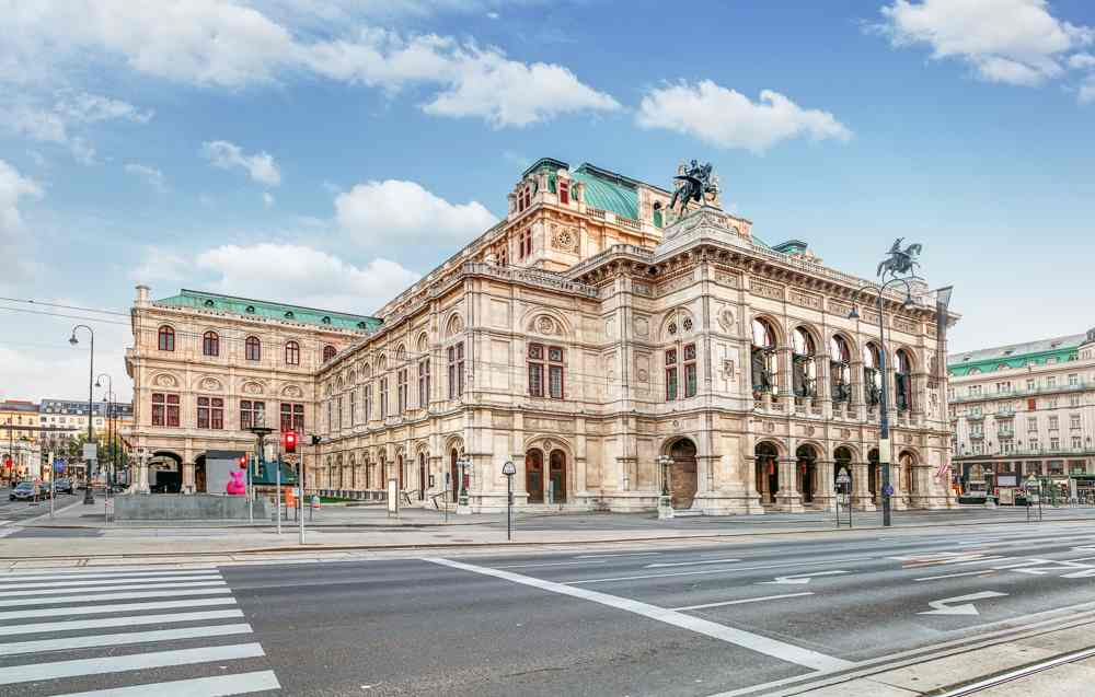 Vienna State Opera is one of the least stops on this self-guided Vienna walking tour.