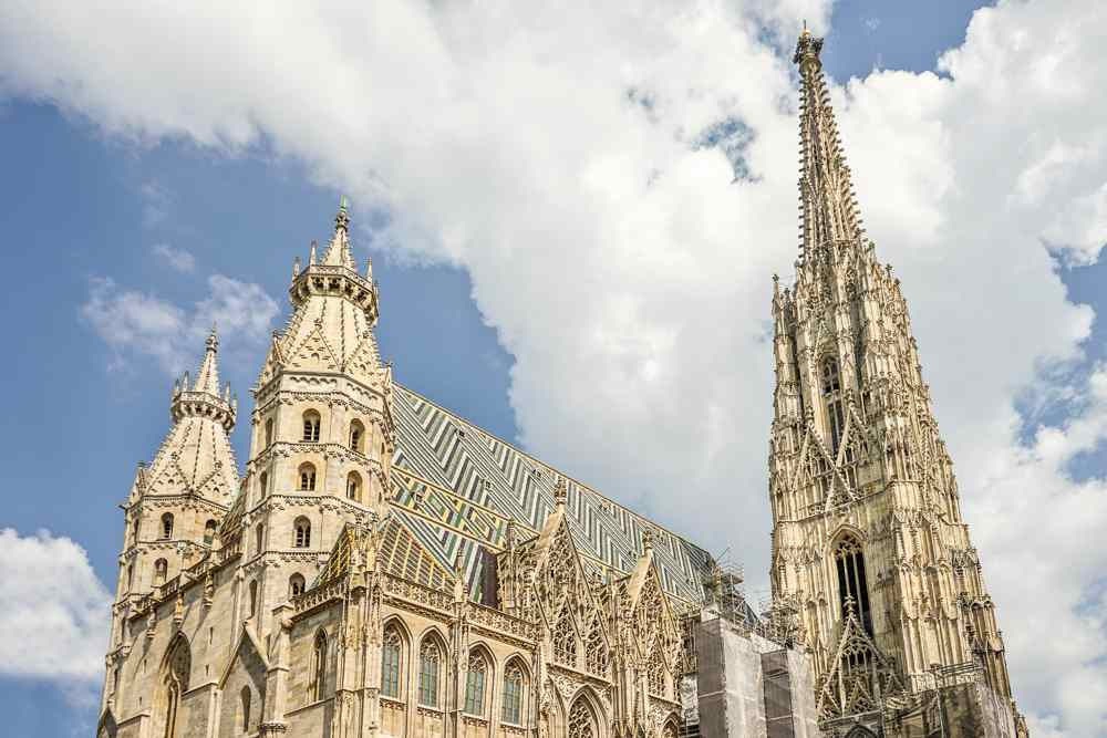 St. Stephen's Cathedral is one of the highlights on this self-guided Vienna walking tour.