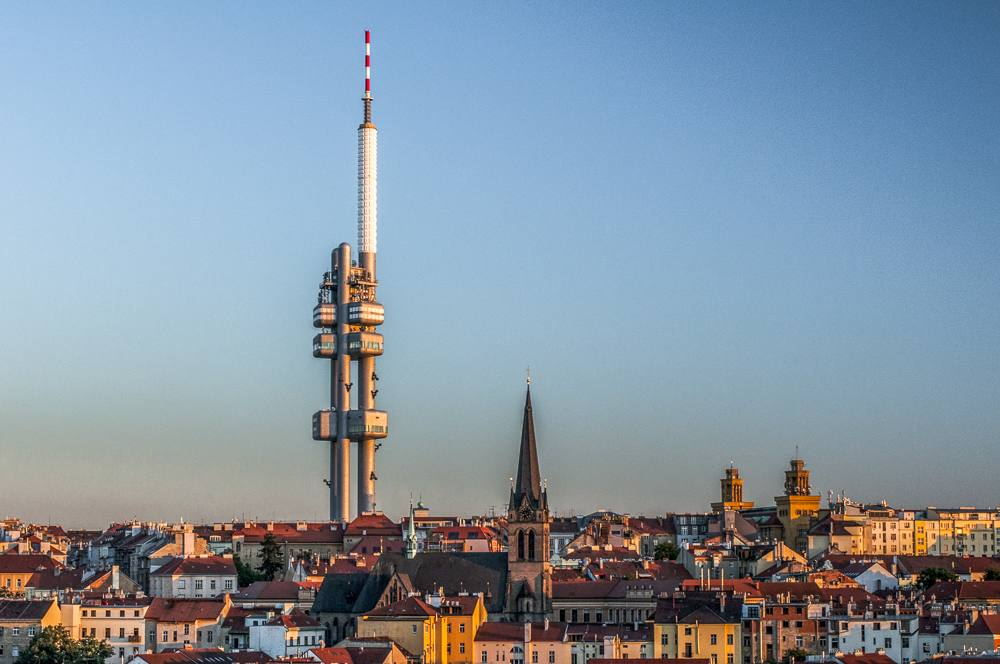 The Zizkov TV Tower is one of the must-see attractions when spending 2 days in Prague.