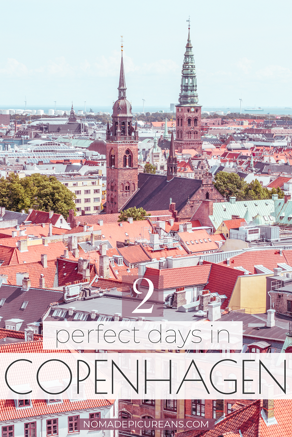 Got only 2 days in Copenhagen? Make the most of your 48 hours in Copenhagen with our in-depth guide. It will take you to all of the city's main sights as well as some hidden gems. #travel #denmark #europedestinations