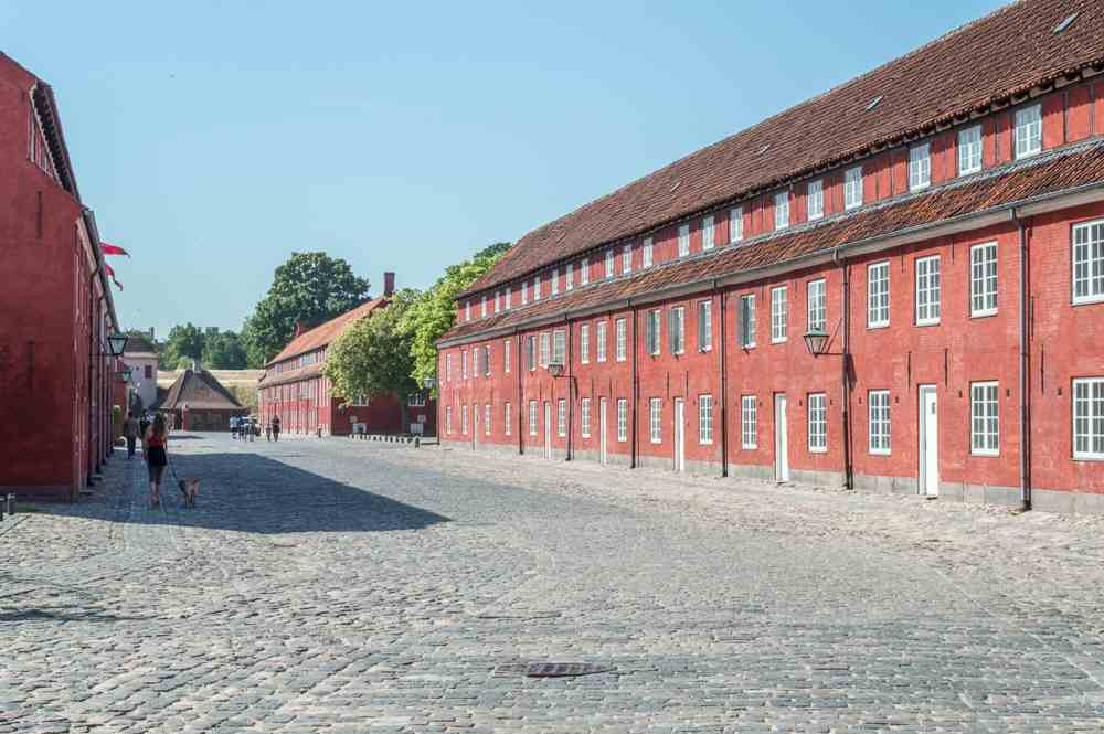 Kastellet is only one of the pretty corners you will see during your 48 hours in Copenhagen.