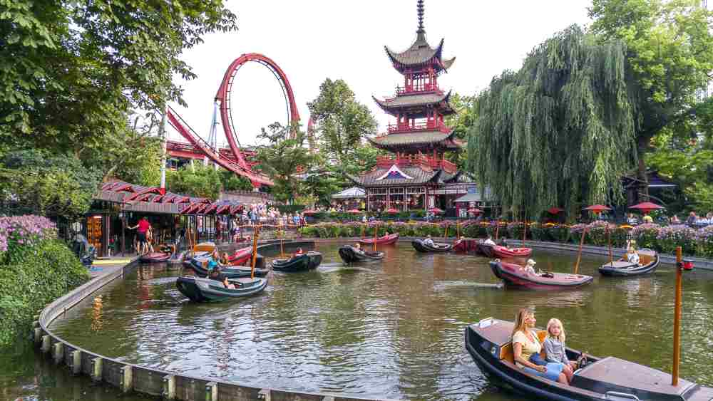 Spend a relaxing afternoon at Tivoli gardens, even if you only have 24 hours in Copenhagen.