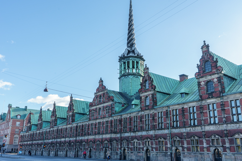 The splendid Børsen building is one of the must see sights when spending 3 days in Copenhagen.