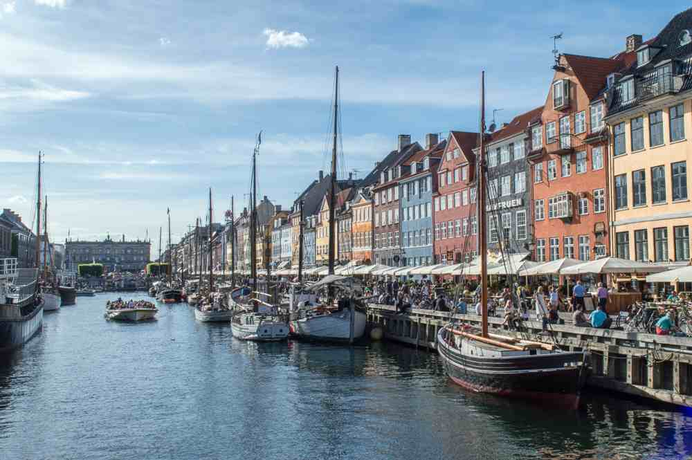 Nyhavn is one of the must see attractions when spending 3 days in Copenhagen.
