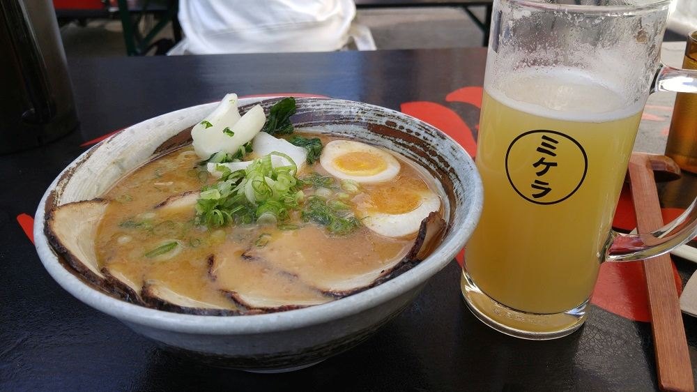 Ramen to Biiru is one of the best lunch spots when spending 3 days in Copenhagen.