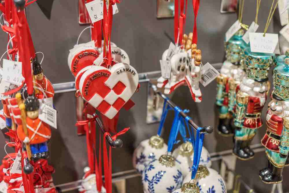 Why not pick up a Christmas ornament as your souvenir from Copenhagen?