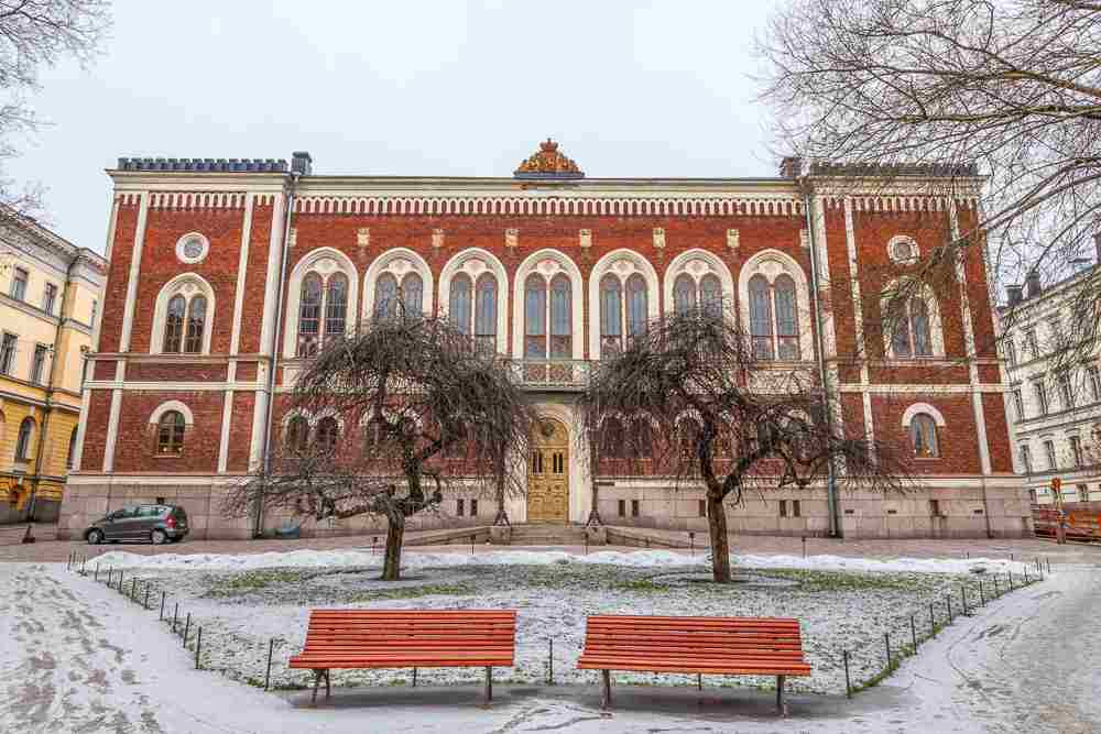 The Finnish House of Nobility is one of the important things to see on this free self-guided Helsinki walking tour.