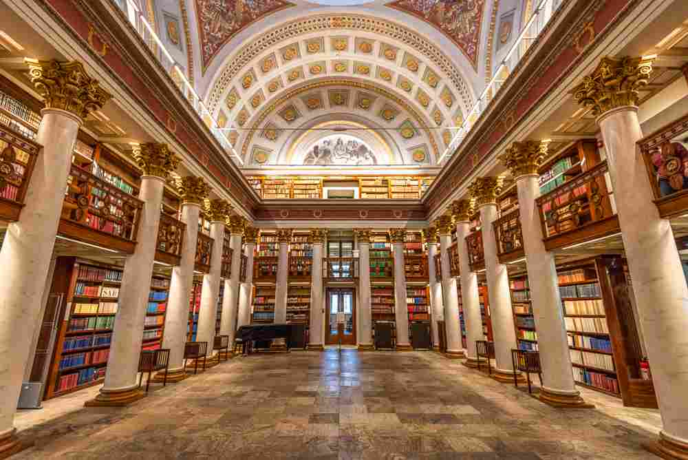 The National Library of Finland is one of the must-see attractions on this free self-guided Helsinki walking tour. C: Juliano Galvao Gomes/shutterstock.com