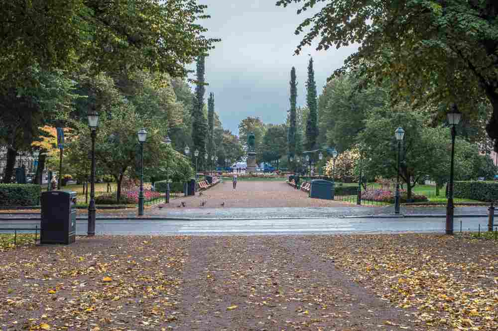 A visit to the famous Esplanadi Park is a must when spending one day in Helsinki.