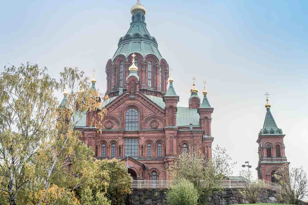 The exquisite Uspenski Cathedral is one of the major sightseeing attractions to see when spending 24 hours in Helsinki.