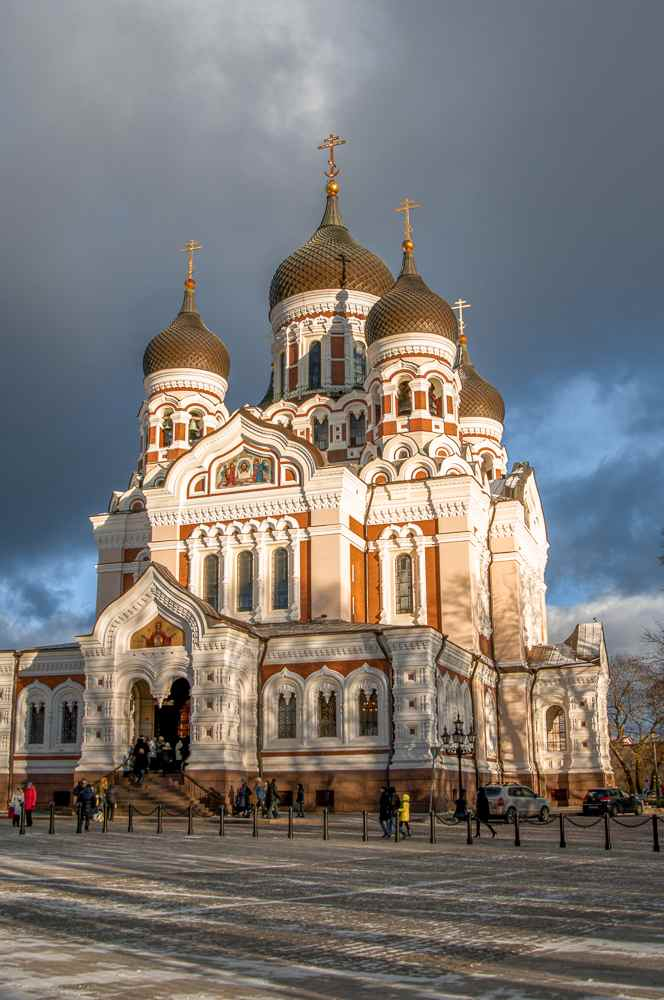What to see in Tallinn in one day: Alexander Nevsky Cathedral is one of the iconic landmarks of Tallinn with its onion domes