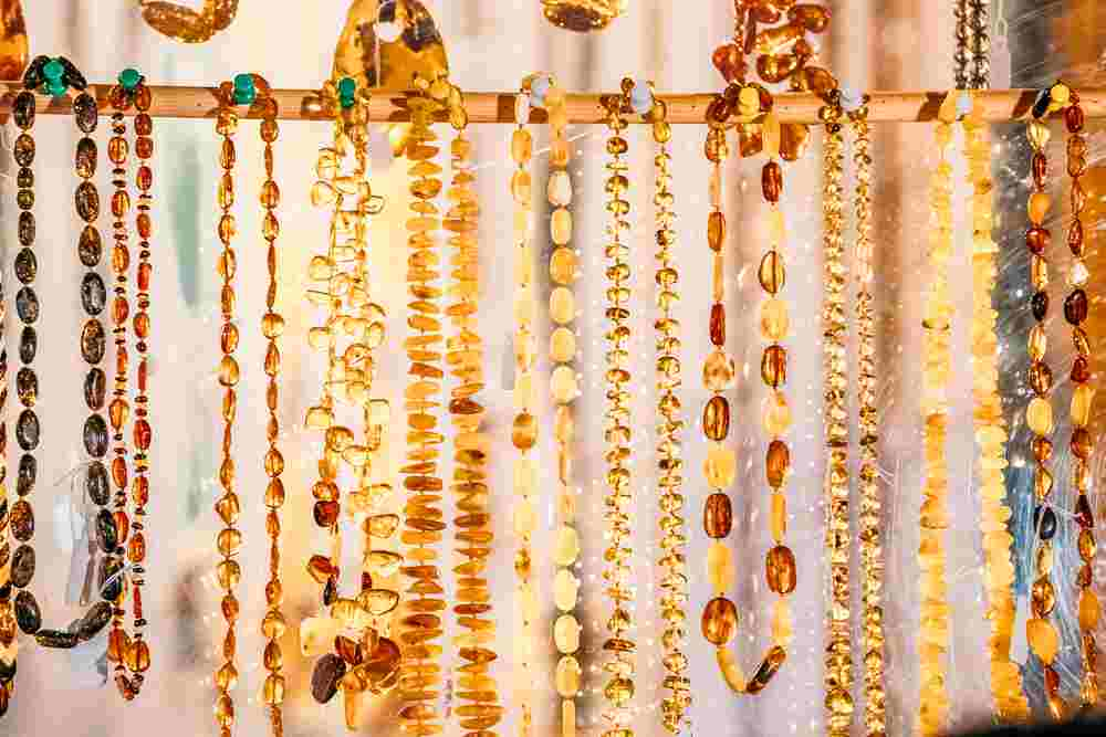 Tallinn Souvenirs: During your one day in Tallinn don't forget to purchase the famous Baltic amber and jewelry.
