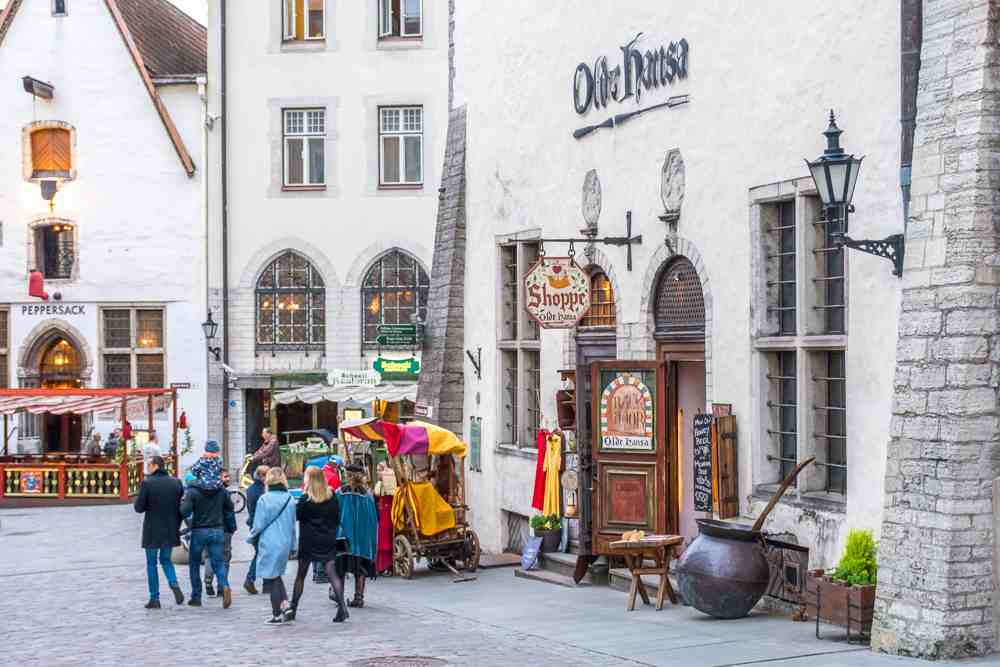 Olde Hansa is one of the best restaurants in Tallinn to eat when coming over on a day trip from Helsinki. C: Kovankin Sergey/shutterstock.com