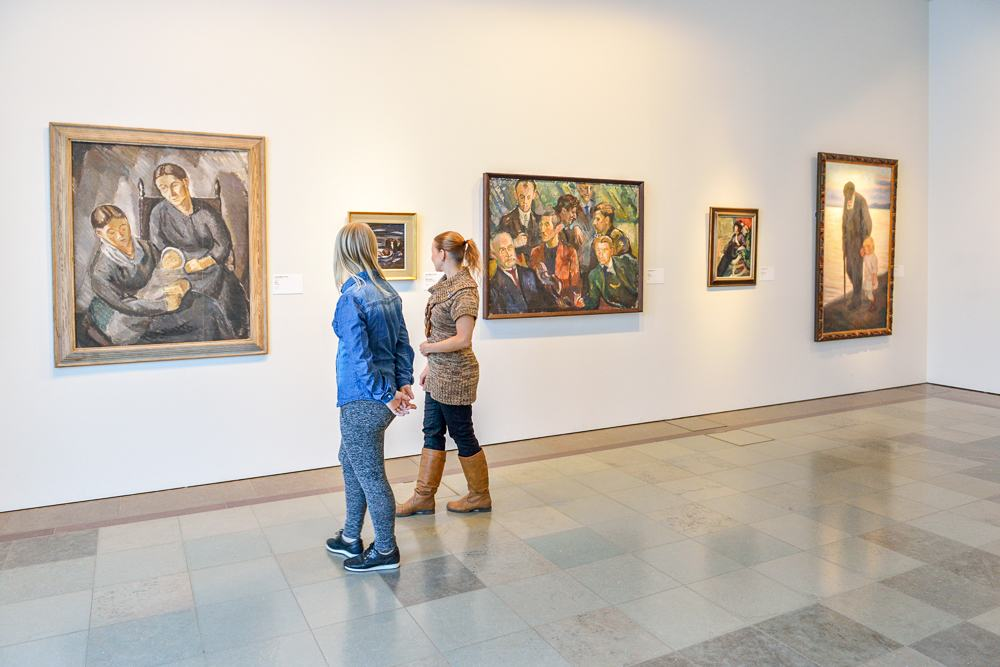 A visit to the excellent Ateneum Art Museum is one of the top things to do when spending 3 days in Helsinki. Popova Valeriya/shutterstock.com