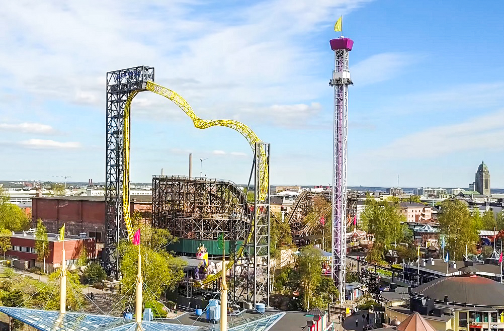 Linnanmäki Amusement Park is one of the top sights to see when spending a weekend in Helsinki.