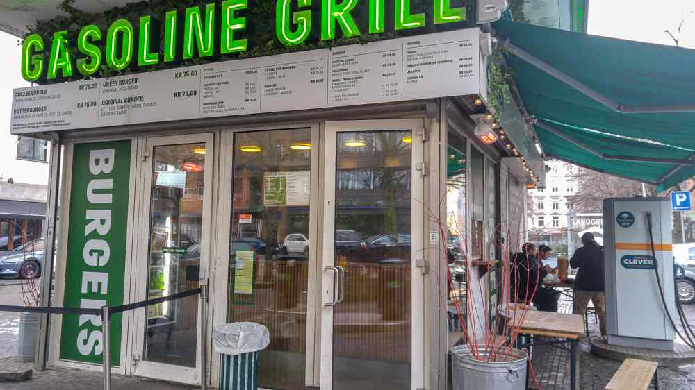 Gasoline Grill is one of Copenhagen's quirkiest eateries.