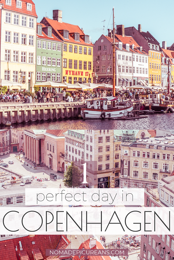 Got only one day in Copenhagen? Here is how to make the most of your 24 hours in Copenhagen! Includes famous sights as well as hidden gems. Complete with practical tips and map. #travel #denmark #europedestinations