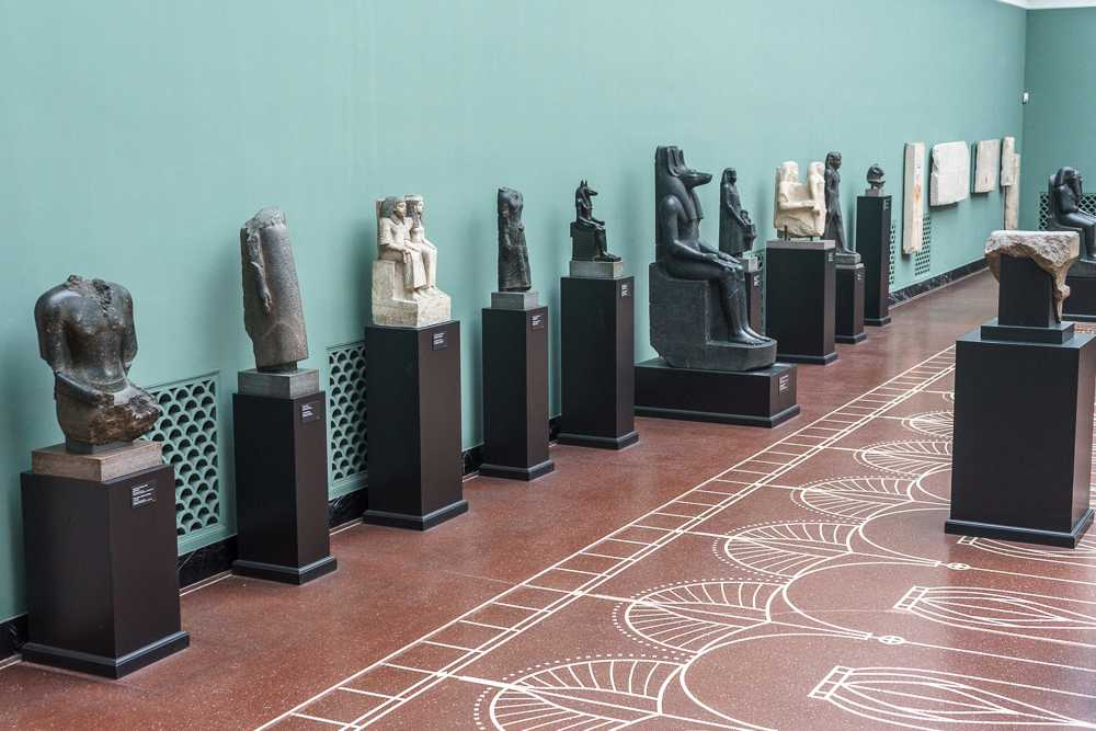 Glyptotek exhibits ancient artifacts from all over the world.