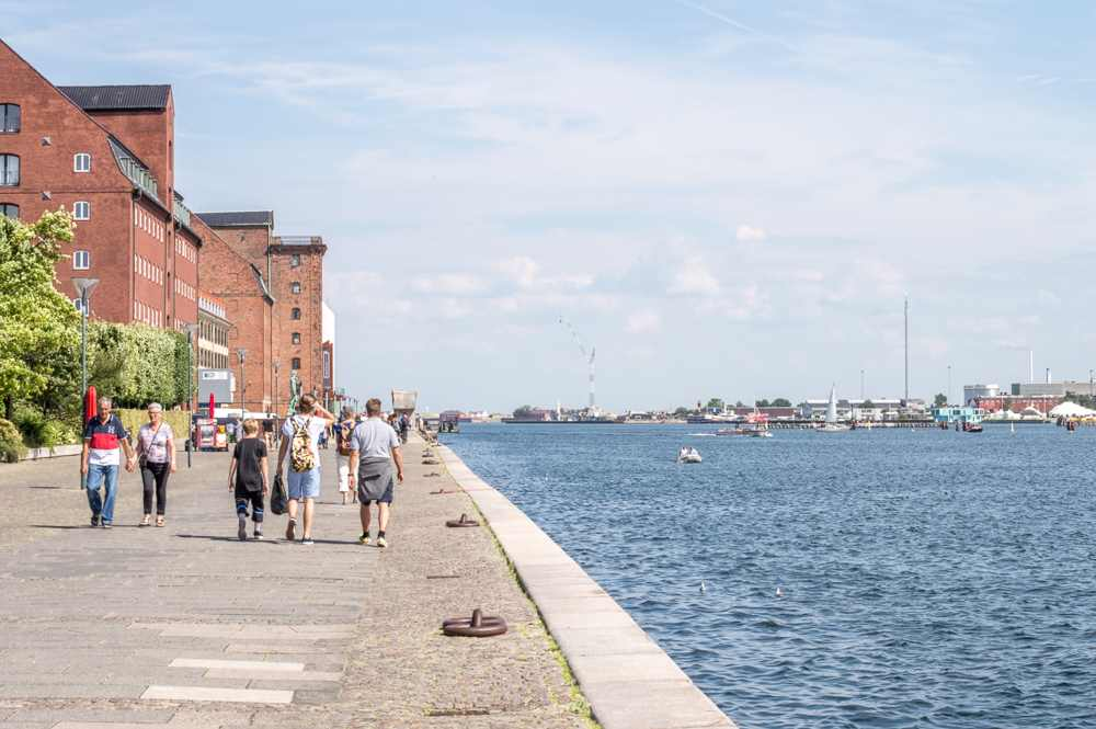 Enjoy a walk along this promenade during your one day in Copenhagen.