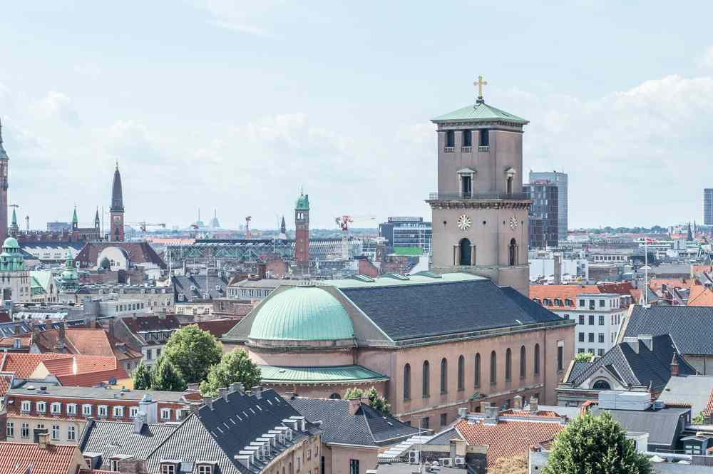 Don't miss out on the view from the Round Tower during your one day in Copenhagen.