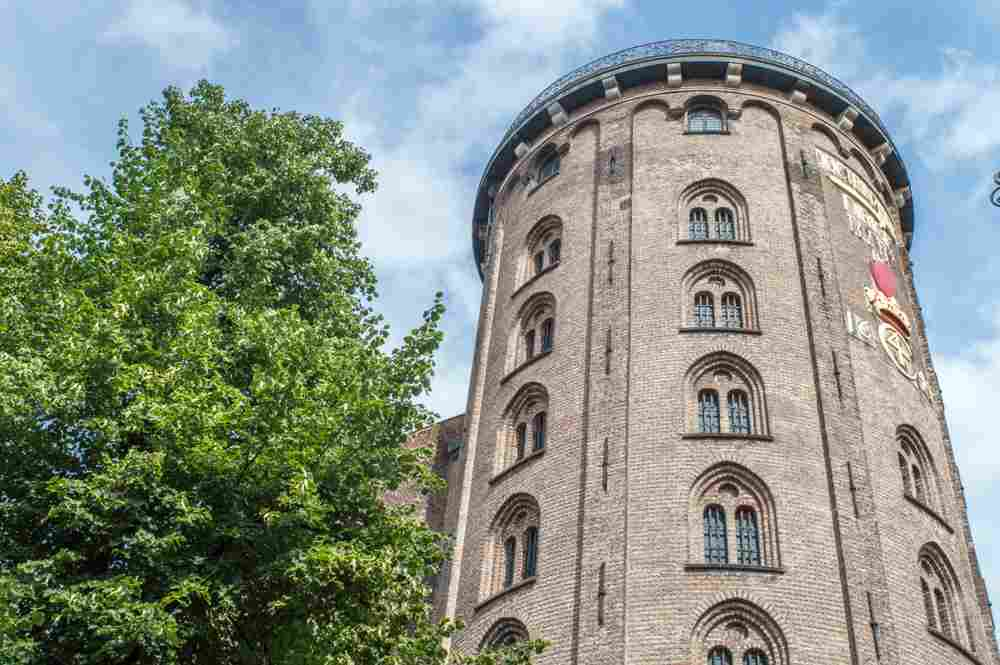 The Round Tower is only one of the sights you get to see on this 24 hours Copenhagen itinerary.