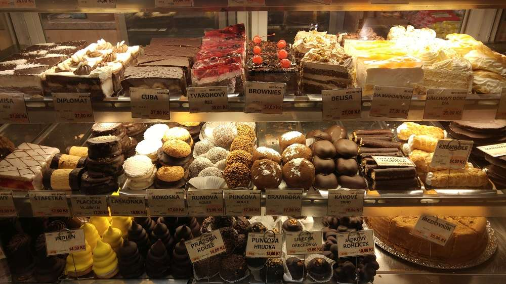 Start off your two days in Prague by munching on some traditional Czech pastries.