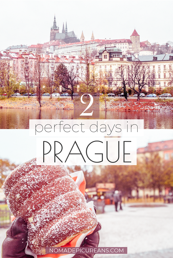 Got only a short weekend in Prague? Read how to make the most out of your 2 days in Prague with our in-depth guide! Includes practical tips and map. Ideal if you love art, food, history, or architecture. #europedestinations #traveldestinations