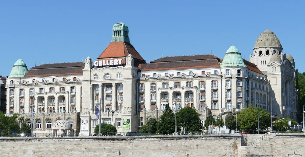 Budapest is one of the best cities to see Art Nouveau architecture in Europe and the Gellert Hotel and Spa is one of the best examples of that style.
